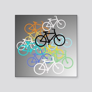 Colored Bikes Design Sticker