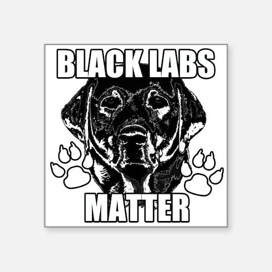 BLACK LABS MATTER 2 Sticker