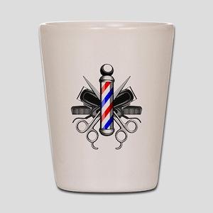 Barber Logo Shot Glass