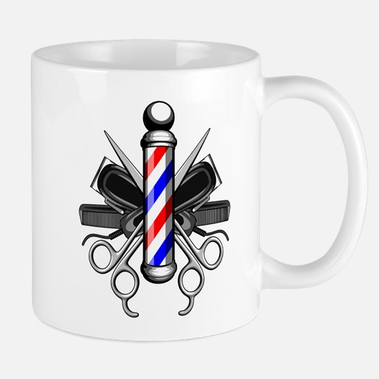 Barber Logo Mugs