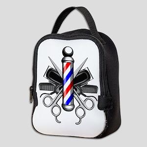 Barber Logo Neoprene Lunch Bag