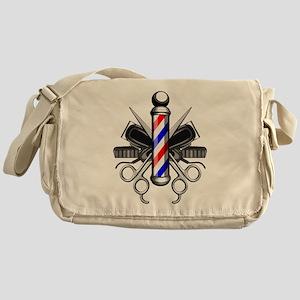 Barber Logo Messenger Bag