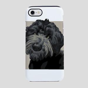 Black Russian Terrier iPhone 8/7 Tough Case