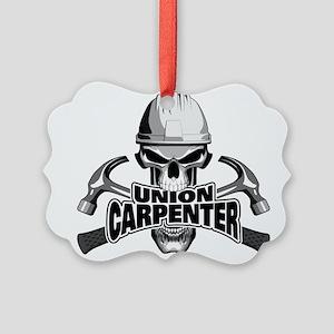 Union Carpenter Skull Ornament
