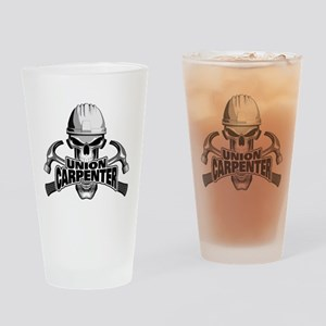 Union Carpenter Skull Drinking Glass