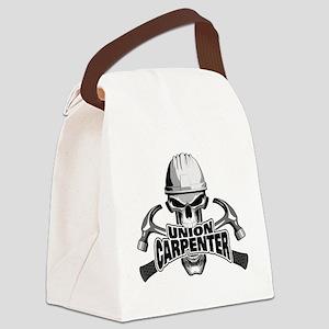 Union Carpenter Skull Canvas Lunch Bag
