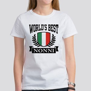 World's Best Nonni Women's T-Shirt