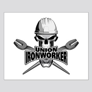 Union Ironworker Skull Posters
