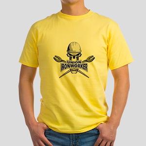 Union Ironworker Skull T-Shirt