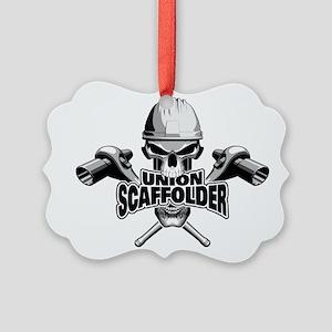 Union Scaffolder Skull Ornament