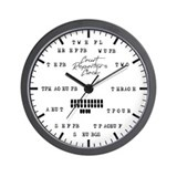Court reporter Wall Clocks