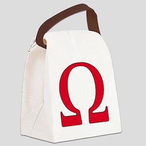 Omega Canvas Lunch Bag