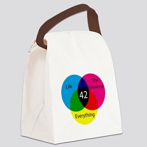 The Answer Canvas Lunch Bag
