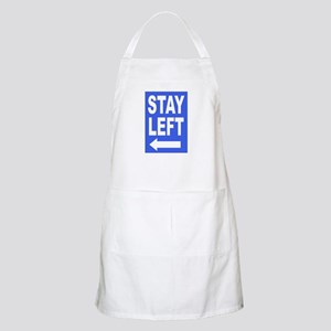 Stay Left Apron