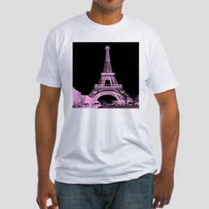 pink paris eiffel tower T-Shirt