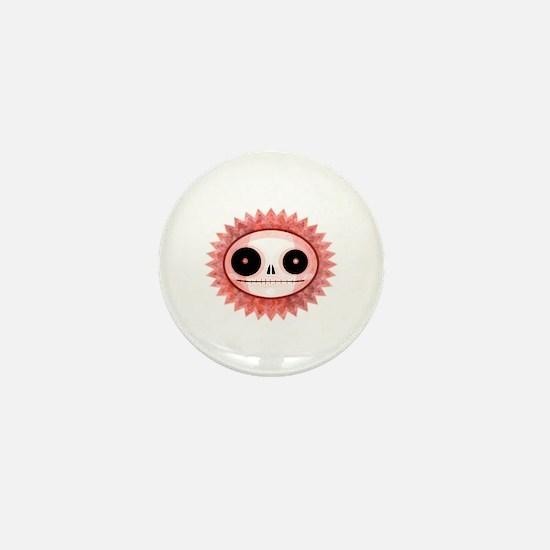 Funny Candy skull Mini Button