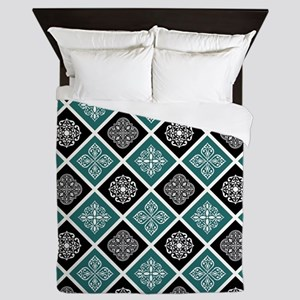 BOHO TILE Queen Duvet