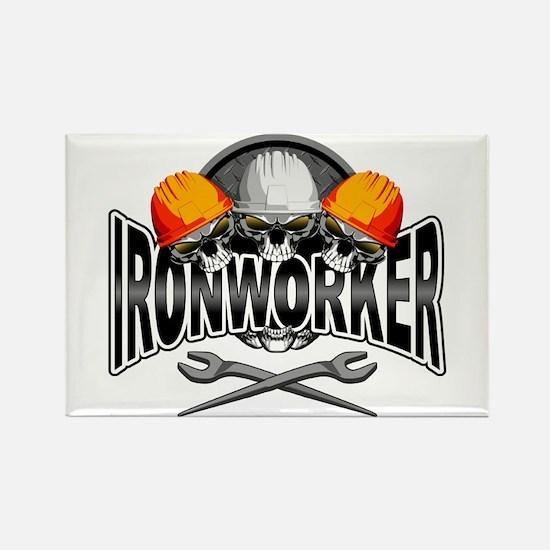Ironworker Skulls Magnets