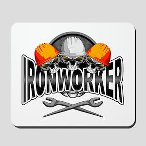 Ironworker Skulls Mousepad