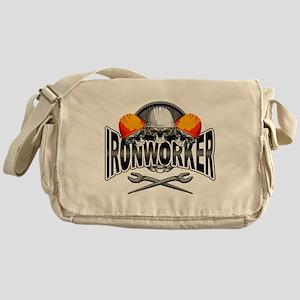 Ironworker Skulls Messenger Bag
