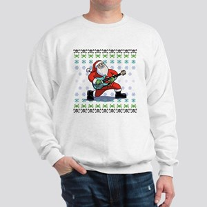 Santa Rockin' Ugly Sweatshirt