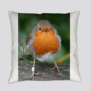 The Red Red Robin Everyday Pillow