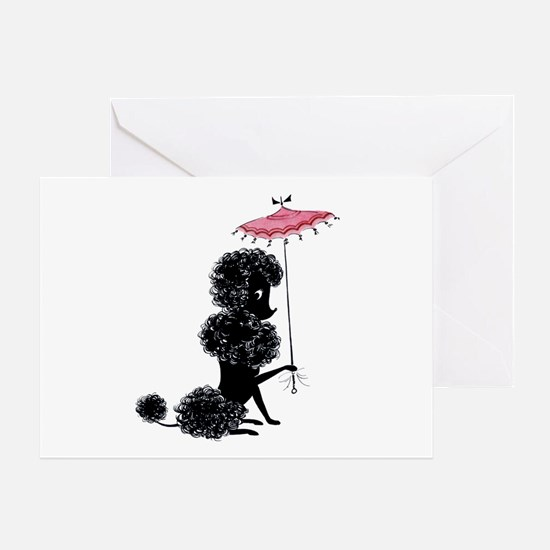 Pretty Polly Poodle - Greeting Card