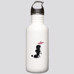 Pretty Polly Poodle - Stainless Water Bottle 1.0L