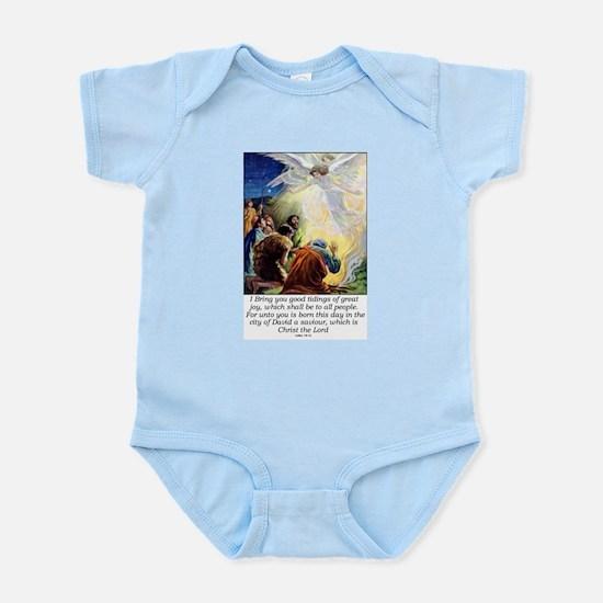 Angel Tidings of Great Joy Infant Bodysuit