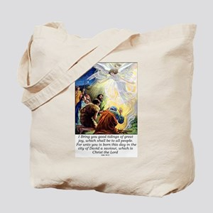 Angel Tidings of Great Joy Tote Bag