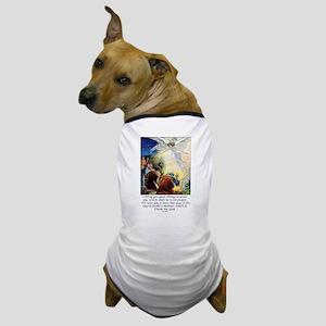 Angel Tidings of Great Joy Dog T-Shirt