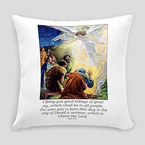 Angel Tidings of Great Joy Everyday Pillow