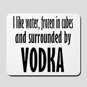 vodka humor Mousepad