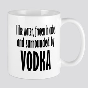 vodka humor Mugs