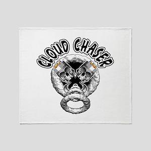 Vape Skulls: Cloud Chaser Throw Blanket