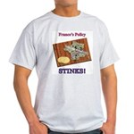France's Policy STINKS! Ash Grey T-Shirt