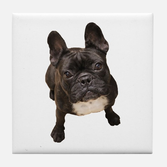 Unique Frenchie Tile Coaster