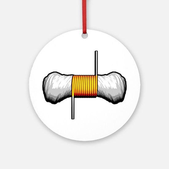 Vaping: Vape Coil Round Ornament