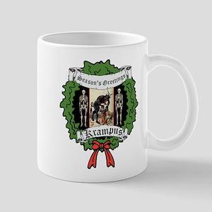 Krampus Seasons Greetings Mugs