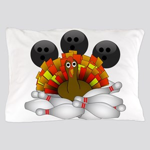 Bowling Strike! Bowling Turkey Pillow Case