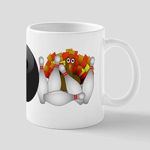 Bowling Strike! Bowling Turkey Mugs
