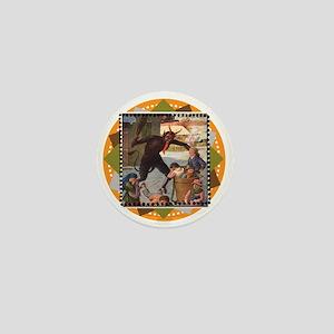 Krampus Whuppass Mini Button