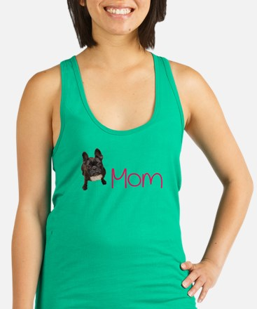 French bull dogs Racerback Tank Top