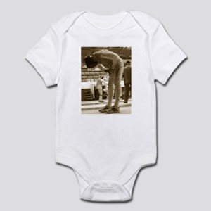 Sepia Fencing Infant Bodysuit
