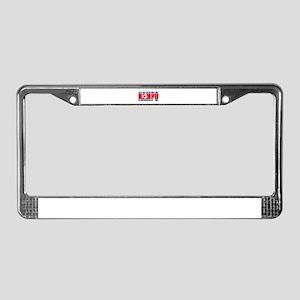 Nampo License Plate Frame