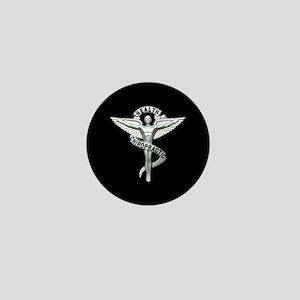 Chiropractor / Chiropractic Emblem Mini Button