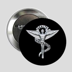 """Chiropractor / Chiropractic Emblem 2.25"""" Button (1"""