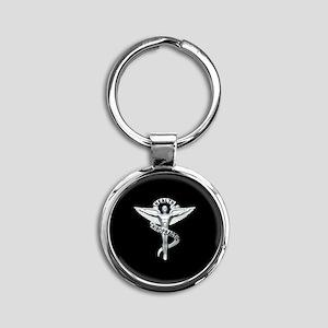 Chiropractor / Chiropractic Emblem Keychains