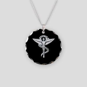 Chiropractor / Chiropractic Emblem Necklace