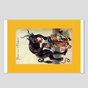 Krampus Sack Postcards (package Of 8)